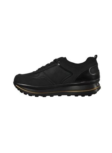 Tiffany&Tomato Tıffany & Tomato 9173061 Siyah-Altın Kadın Spor Ayakkabı Siyah